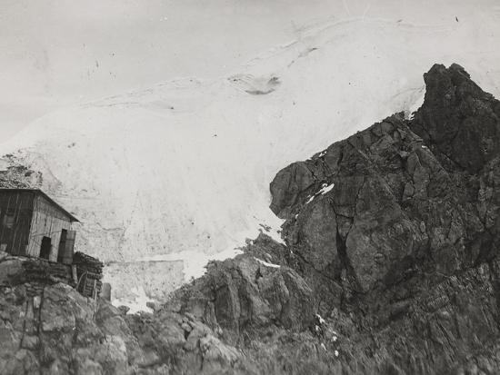 First World War: the War Zone in the High Mountains Near Trafoi--Photographic Print