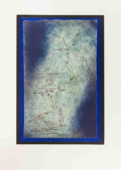 Fischbild-Paul Klee-Art Print