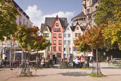 Fischmarkt in the Old Part of Cologne, North Rhine-Westphalia, Germany, Europe-Julian Elliott-Photographic Print