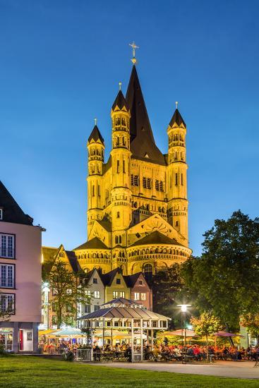 Fischmarkt, Old Town, Cologne, North Rhine Westphalia, Germany-Sabine Lubenow-Photographic Print