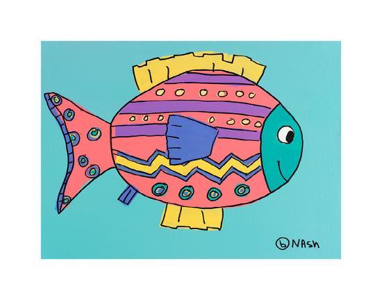 Fish 4-Brian Nash-Art Print