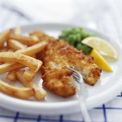 Fish And Chips-David Munns-Photographic Print