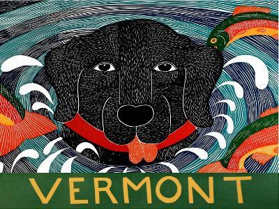 Fish Are Jumping Vermont Large-Stephen Huneck-Giclee Print
