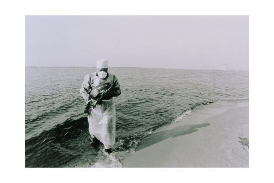 Fish Being Taken From the Chernobyl Cooling Pond-Ria Novosti-Giclee Print
