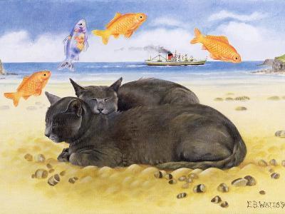 Fish Dreams, 1997-E.B. Watts-Giclee Print
