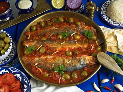 Fish Egyptian-Style, Egypt-Nico Tondini-Photographic Print