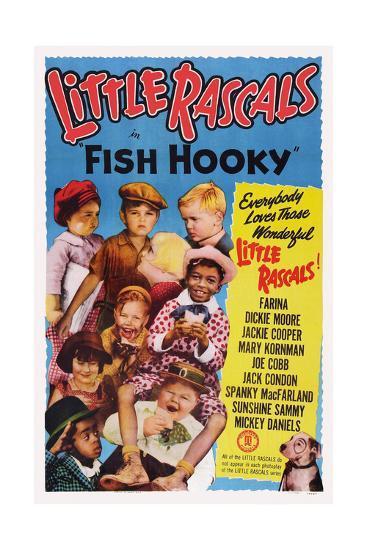 Fish Hooky--Giclee Print