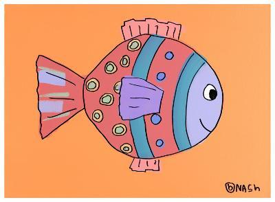 Fish II-Brian Nash-Art Print