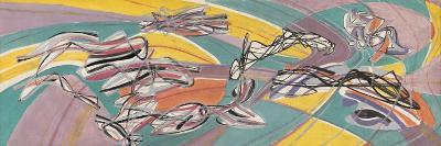 Fish in the Escoutay-Stanley William Hayter-Giclee Print