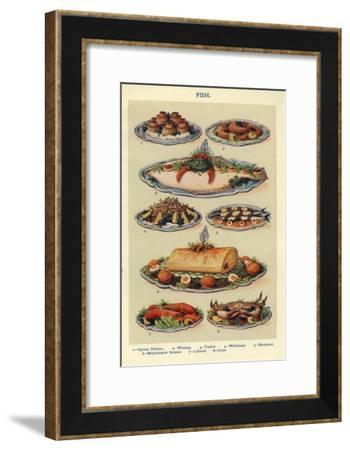 Fish, Isabella Beeton, UK--Framed Giclee Print