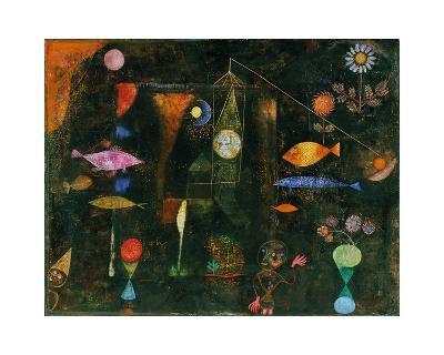 Fish Magic-Paul Klee-Giclee Print