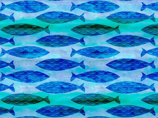 Fish Pattern-Lebens Art-Art Print