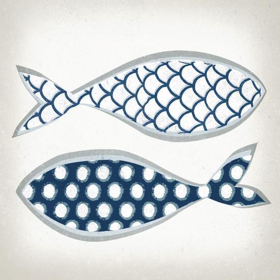 Fish Patterns II-Tandi Venter-Art Print