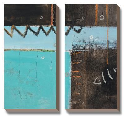 Fish Pier I-Janel Pahl-Canvas Art Set