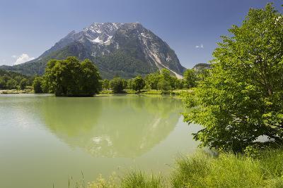 Fish Ponds Intrautenfels, Grimming, Ennstal, Styria, Austria-Rainer Mirau-Photographic Print