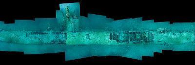 Fish Swarm the German Submarine U-352, Sunk Off North Carolina-David Doubilet-Photographic Print