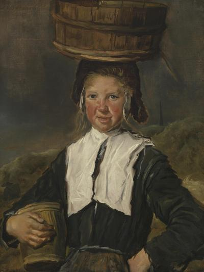 Fisher Girl-Frans Hals-Giclee Print