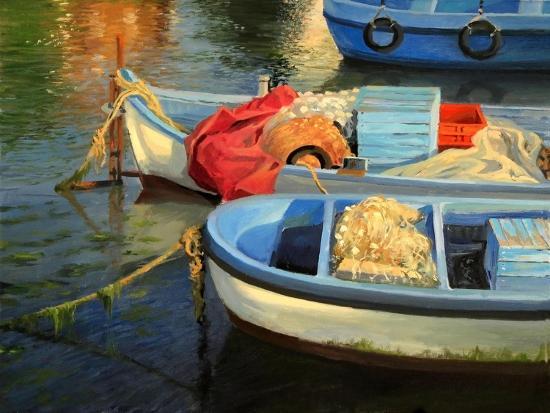 Fisherman'S Etude-kirilstanchev-Art Print