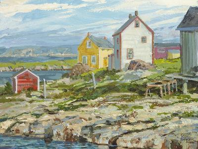 Fisherman's Houses Badger's Quay-Peter Snyder-Giclee Print