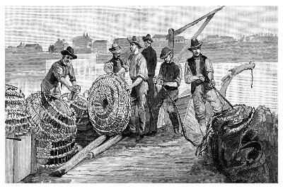 Fisherman's Jetty, 1886--Giclee Print