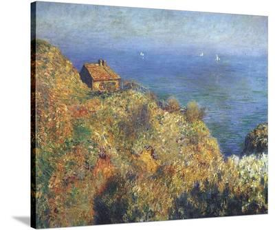 Fisherman's Lodge at Varengeville-Claude Monet-Stretched Canvas Print