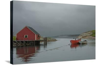 Fisherman'S Shack Peggy's Cove--Stretched Canvas Print
