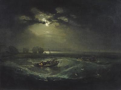 Fishermen at Sea-J^ M^ W^ Turner-Giclee Print