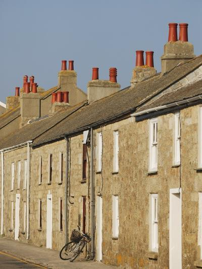 Fishermen's Cottages on The Strand in Hugh Town-Nik Wheeler-Photographic Print