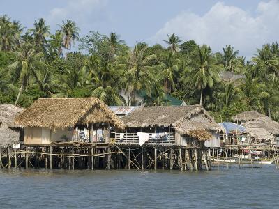 Fishermen's Stilt Houses, Pilar, Bicol, Southern Luzon, Philippines, Southeast Asia, Asia--Photographic Print