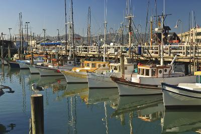 Fishermen's Terminal; San Francisco California United States of America-Design Pics Inc-Photographic Print