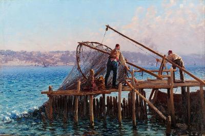 Fishermen-Fausto Zonaro-Giclee Print