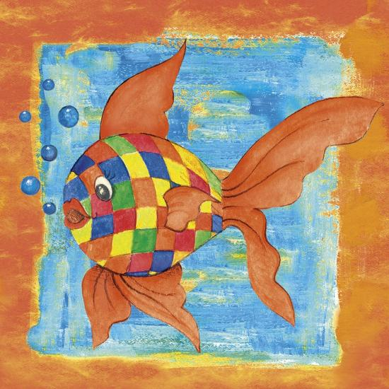 Fishes Colors 03-Maria Trad-Giclee Print