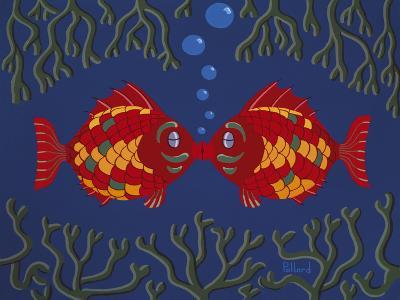 Fishes' Kisses-Brian Pollard-Giclee Print