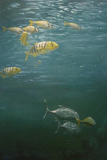 Fishes-Michael Jackson-Giclee Print