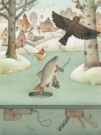 Fishing, 2003-Kestutis Kasparavicius-Giclee Print