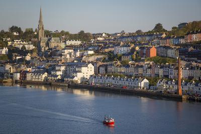 Fishing Boat Headed Out to Sea at Dawn, Cobh, County Cork, Ireland-Brian Jannsen-Photographic Print