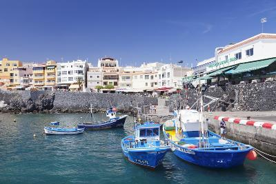 Fishing Boats at the Port, Los Abrigos, Tenerife, Canary Islands, Spain, Europe-Markus Lange-Photographic Print