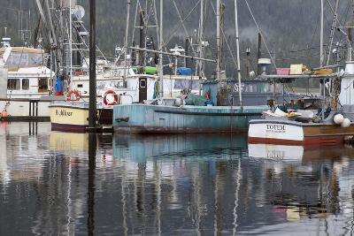 Fishing Boats Moored in Harbor, Petersburg, Alaska, USA-Jaynes Gallery-Photographic Print