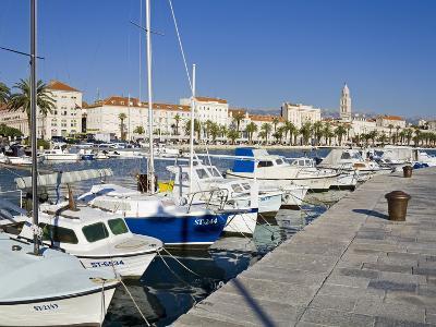 Fishing Boats on the Waterfront, Split, Dalmatian Coast, Croatia, Europe-Richard Cummins-Photographic Print