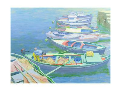 Fishing Boats-William Ireland-Giclee Print