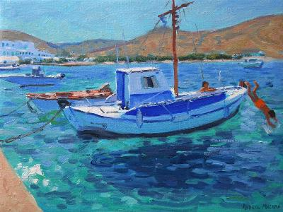 Fishing Boats-Andrew Macara-Giclee Print