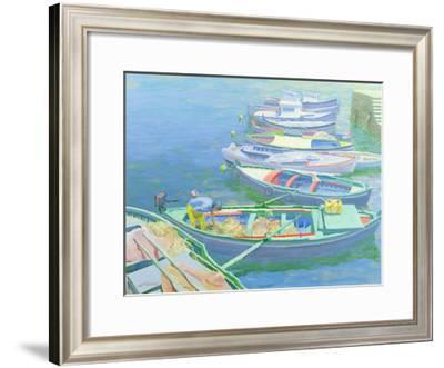 Fishing Boats-William Ireland-Framed Giclee Print