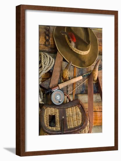 Fishing Cabin I-Kathy Mahan-Framed Photographic Print