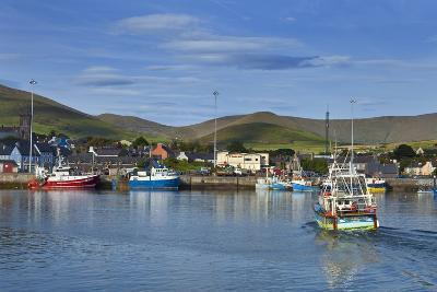 Fishing Harbour in Dingle Town, Dingle Peninsula, County Kerry, Ireland--Photographic Print