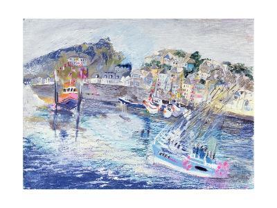 Fishing Harbour, Newlyn, Cornwall, 2005-Sophia Elliot-Giclee Print