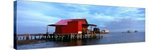Fishing Huts in the Sea, Pine Island, Florida, USA