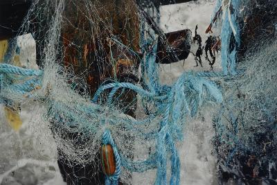 Fishing Nets Tangled Together-Fay Godwin-Giclee Print
