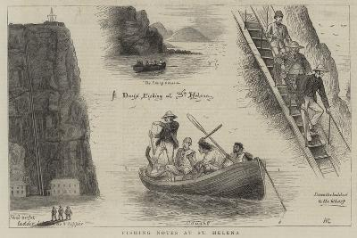 Fishing Notes at St Helena-William Ralston-Giclee Print