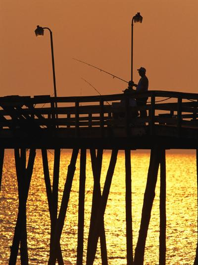 Fishing Pier at Rodanthe, North Carolina-Steve Winter-Photographic Print