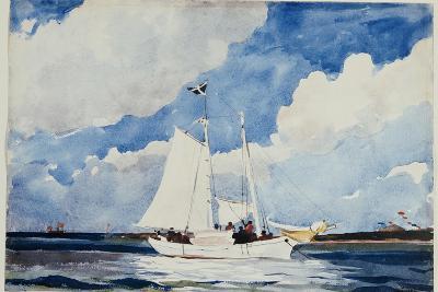 Fishing Schooner, Nassau, C.1898-99-Winslow Homer-Giclee Print